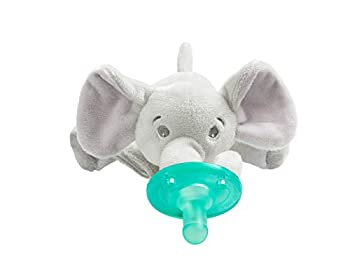 Philips AVENT Soothie Snuggle Holder with Detachable Pacifier Elephant 0m+
