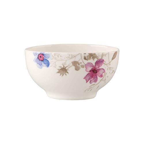 Villeroy & Boch Mariefleur Gris Basic Schale, Premium Porzellan, weiß/bunt