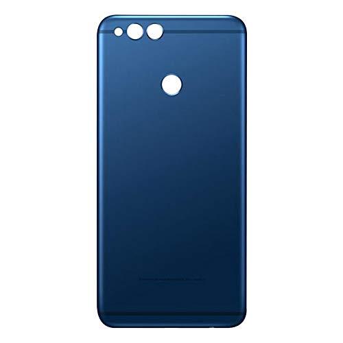 Protector de Pantalla Incorporado Impermeable Ajuste De La Carcasa Trasera De Reemplazo Adhesivo Fit For Huawei Honor 7X Tapa Batería Vidrio Trasero De La Tapa Trasera (Color : Blue)