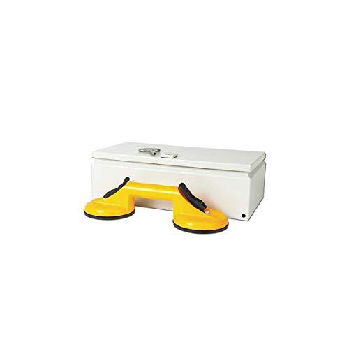 Bohle Boîte pour ventouses lève-plaques, avec verrou L x l 400 x 200 mm -