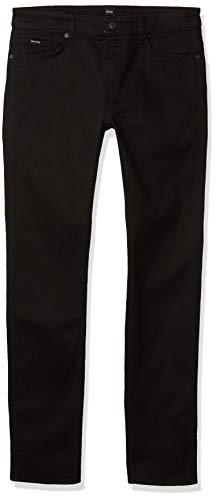 Hugo Boss Herren Delaware Slim Fit Stretch Jeans, schwarz, 33W / 32L