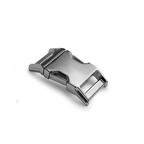Metall-Klickverschluss Alumaxx, Set aus 2 Stück, 5/8