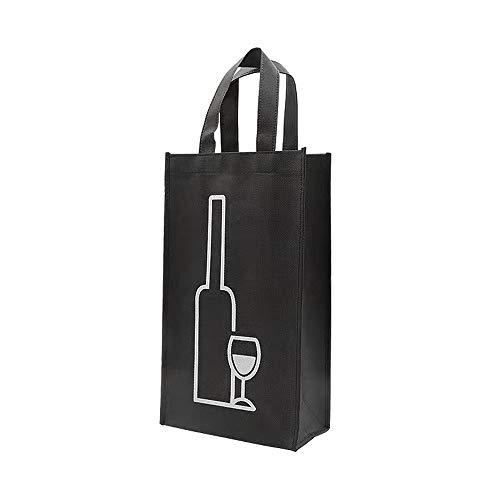 U/R 2 bolsas para botellas, 2 compartimentos, Achilles, bolsa para botellas, botella para 1,5 l, botellero 35 x 10 x 18 cm (2 unidades)