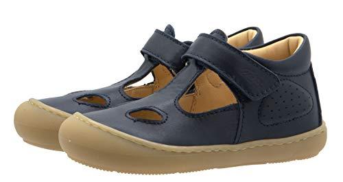Ocra Sandalen Kinder Lauflernschuhe D072 pflanz. geg. Blau, Schuhgröße:EUR 24