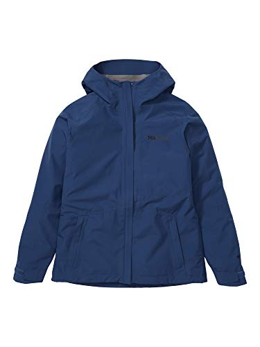 Marmot Wm's Minimalist Jacket Giacca Antipioggia Rigida, Impermeabile Leggero, Antivento, Impermeabile, Traspirante, Donna, Arctic Navy, M