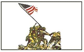 Battle of Iwo Jima Flag WWII Banner Military Pennant Victory 3x5 Indoor Outdoor