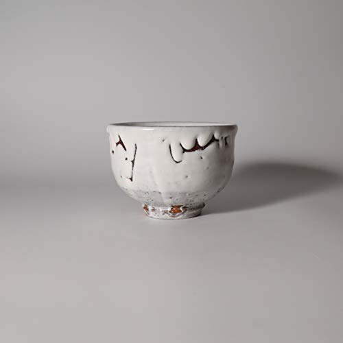 Best Review Of White hagi matcha chawan teabowl. Masahiko Otani. Japanese pottery Hagi yaki.