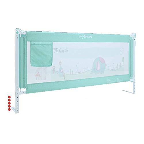 BDD Bed Rail Single Toddler Child Safety Bed Guard, Folding Infant Bedrail Protection Guards,1.2-2.2M,L-180Cm,L-180Cm