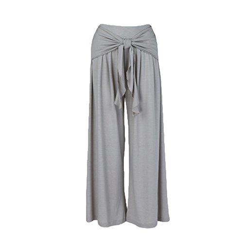 YWLINK Damen Kleidung,Frauen Mode LäSsig Locker Hohe Taille Breites Bein Aufflackern Hosen