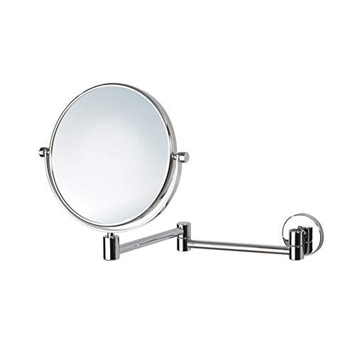 Spiegel make-up spiegel 8 inch 3-voudige vergroting dubbelzijdige spiegel wandspiegel 360°-wiel voor make-up en scheerbeurt