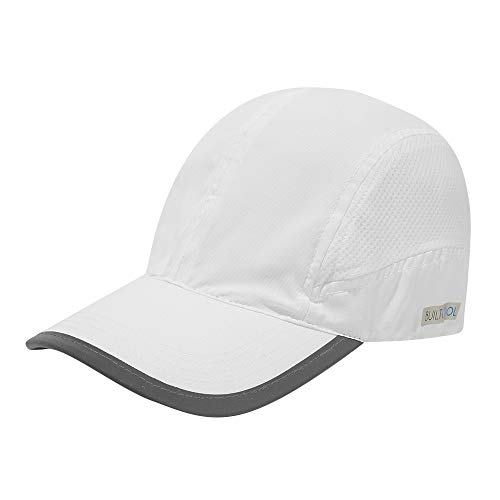 BUILTCOOL Mesh Cooling Baseball Hat - Moisture Wicking Ball Cap for Hot Weather, Running, Tennis, and Golf