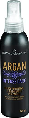 Gama Italy Professional Argan Intense Care, Spray Protettivo e Rigenerante, Nutre e Idrata i Capelli