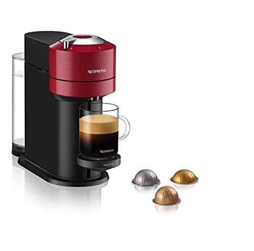 Nespresso Vertuo Next XN910540 Coffee Machine by Krups, Red