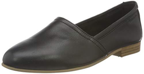 Tamaris Damen 1-1-24233-26 Flacher Slipper, Slipper, black, 38 EU