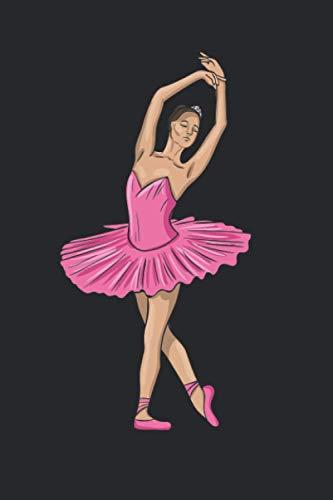 Ballerina: 6x9 Ruled Notebook, Journal, Daily Diary, Organizer, Planner