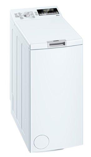 Siemens iQ 500 WP12T444 Waschmaschine Toplader/A++ B / 1200 UpM / 6 kg/weiss/Nachlegefunktion/Wolle-Handwasch Programm