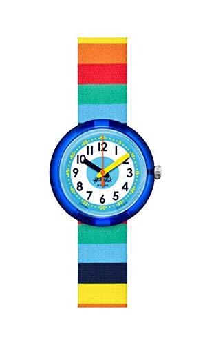 Flik Flak Jungen Analog Quarz Uhr mit Kunststoff Armband FPNP056