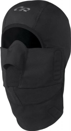 Outdoor Research Gorilla Balaclava Hat, Black, Large