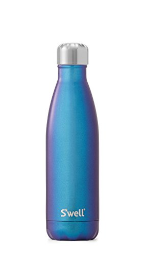 S'well Stainless Steel Bottle-17 Fl Oz Neptune-Triple-Layered Vacuum-Insulated Containers Keeps Drinks Cold for 41 Hours and Hot for 18-with No Condensation-BPA Free Water Bottle, 17oz