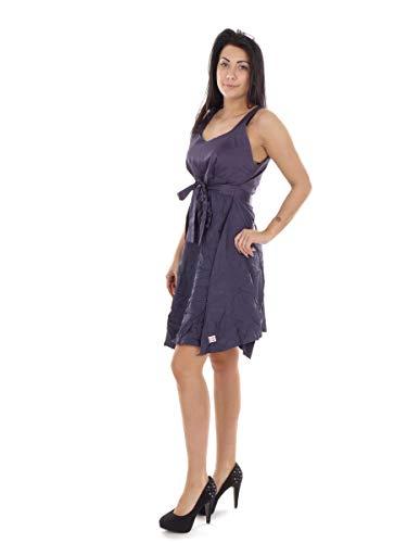 Skunkfunk Kleid Sommerkleid Trägerkleid Aterbe lila NEU (4)
