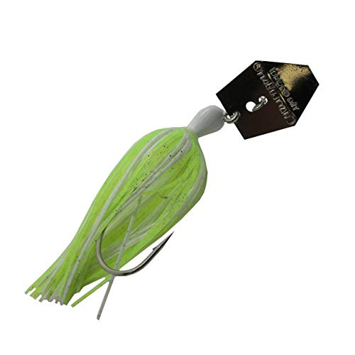 Z-Man Chatterbait, Chartreuse White, 1/4-Ounce