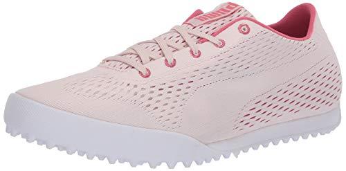 PUMA Golf Women's Monolite Cat Engineered Mesh Golf Shoe, Rosewater-Rapture Rose, 7 M US