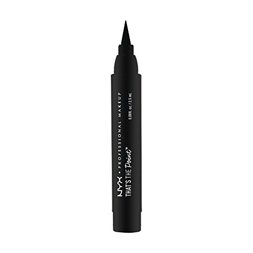 NYX Professional Makeup That's The Point Eyeliner - Eyeliner-Kollektion mit 7 tiefschwarzen Stiften, verschiedene Applikatoren, 1,1 ml, Put A Wing On It