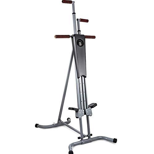 Gvqng Stepper Escalador Vertical Plegable, una MáQuina MáS Segura, MáS Estable y MáS CóModa para Toda Casa, Ideal para Entrenamiento Intervalos de Alta Intensidad, Carga MáXima 150 Kg
