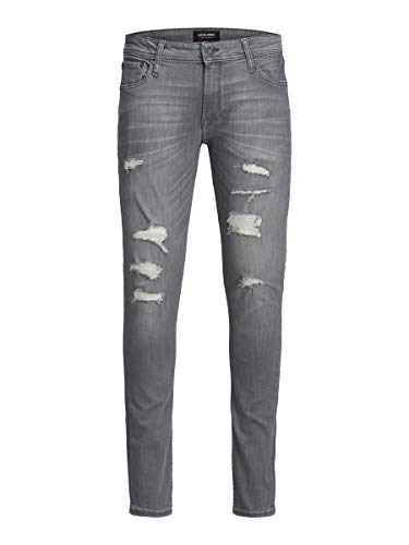 JACK & JONES Herren JJILIAM JJORIGINAL AGI 203 TC320 Hose, Grey Denim, 29/32