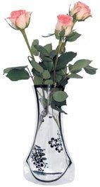 ROTIX Vase Faltbare Blumenvase aus Folie 12 St. bunt gemischt