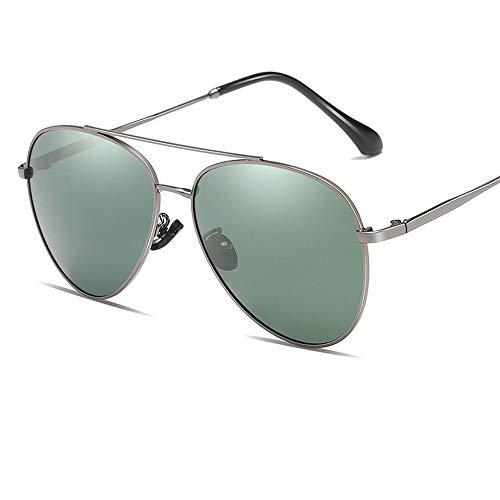 Gafas De Sol para Hombre Y Mujer Moda HD Polarizadas Gafas ProteccióN para ConduccióN Gafas De Deportes Al Aire Libre De Pesca De Moda Regalo de San Valentín (Color : Green)