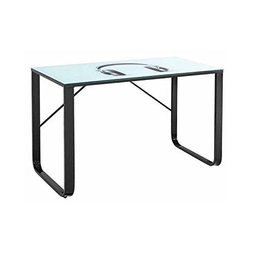 comprar mesa escritorio cristal carrefour