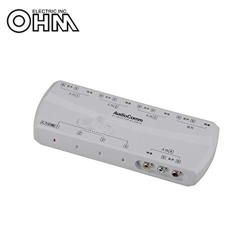 OHM AudioComm AVセレクター AV-R401H