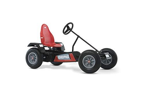 BERG Gokart mit XL-frame Extra Red | Kinderfahrzeug, Tretauto mit verstellbarer Sitz, Mit Freilauf, Kinderspielzeug geeignet für Kinder im Alter ab 5 Jahren