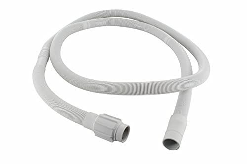 DL-pro Whirlpool 481253029113 - Tubo de desagüe para lavadora y lavavajillas Whirlpool Bauknecht 481253029113