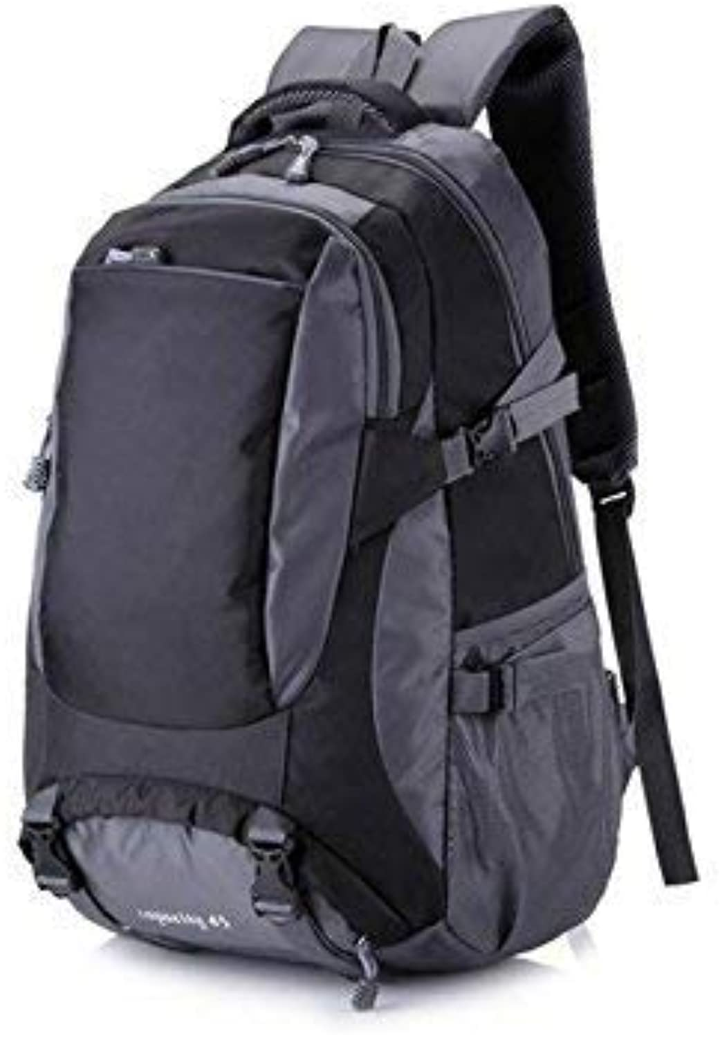 Travel Camping Backpack, Outdoor and Indoor Men Women Sports Outdoor Large Capacity Climbing Backpack Hiking Travel Bag(Black)