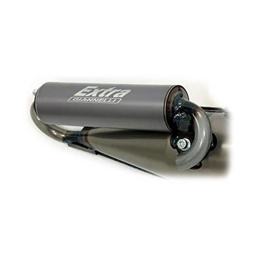 GIANNELLI Tubo de escape EXTRA V2 para varios modelos Piaggio/Gilera
