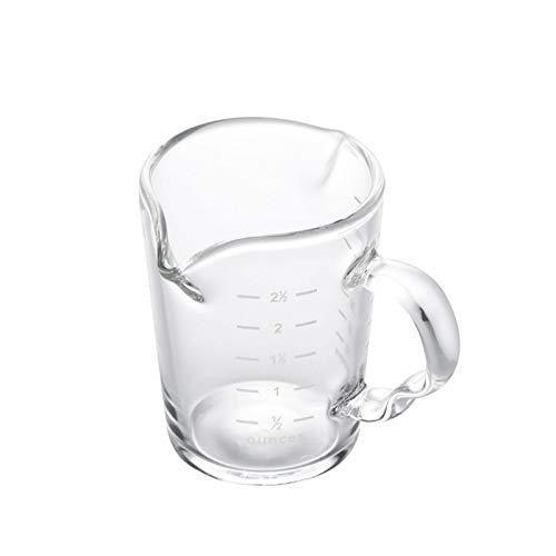 Jarra de leche Taza de leche de doble boca con taza de...
