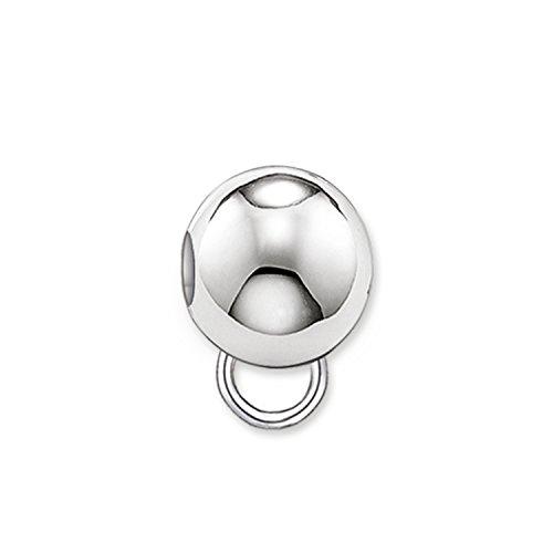Thomas Sabo Damen Herren Carrier Karma Beads Charms 925 Sterling Silber KX0001-001-12