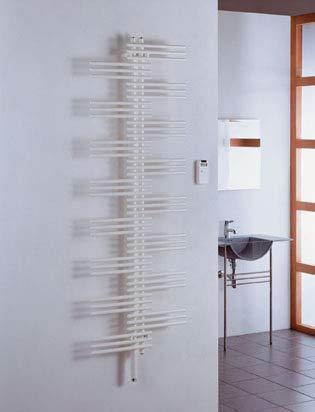 Zehnder Design Radiatore Yucca Yucca Elettrico YSE-180-060 / UD, radiatori da Bagno: Bianco RAL 9016 - ZY1V0760B100000