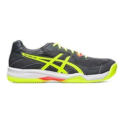 Asics Gel-Padel Pro 4, Sneaker Hombre, Carrier Grey/Safety Yellow, 43.5 EU