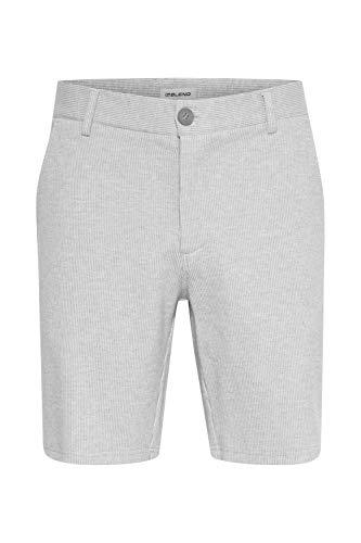 b BLEND AJO Herren Chino Shorts Bermuda Kurze Hose (mit Gürtel) (Stretch), Größe:M, Farbe:Stone Mix (200274)