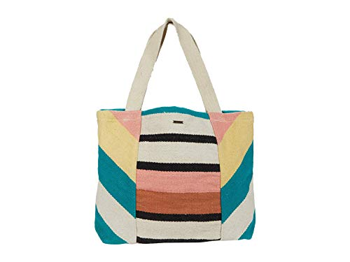 Billabong Women's Wild Air Stripe Tote Bag Backpacks, Peach, One Size