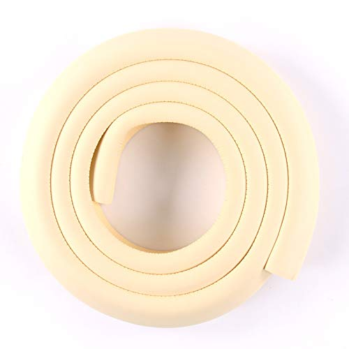Baby Proofing Edge Protectors & Safety Corner Guards for Furniture Edge Bumper Guards, Table Protectors | 6.5 ft Edge + 4 Corners | Coffee Table Protectors for Baby (Beige)