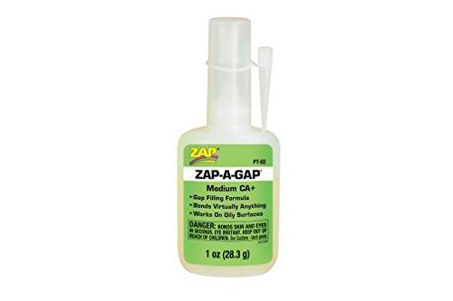 ZAP PT02 - Zap-A-Gap CA Plus Sekundenkleber, spaltfüllend, 28.3 g