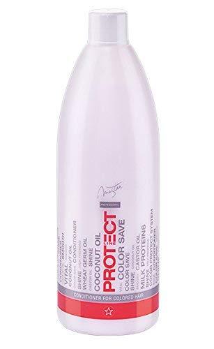 Prestige Master Après-shampooing professionnel pour cheveux avec huile de noix de coco et complexe antioxydant 970 ml