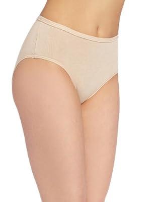 Wacoal Women's B-Fitting Hi-Cut Brief Panty, SAND, OneSize by Wacoal Women's IA