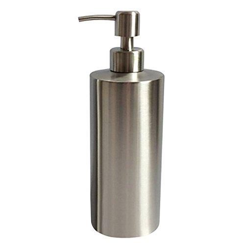 Wholehot ソープ ディスペンサー ステンレス製 シャンプー ボトルディスペンサー 手洗いボトル ディス...
