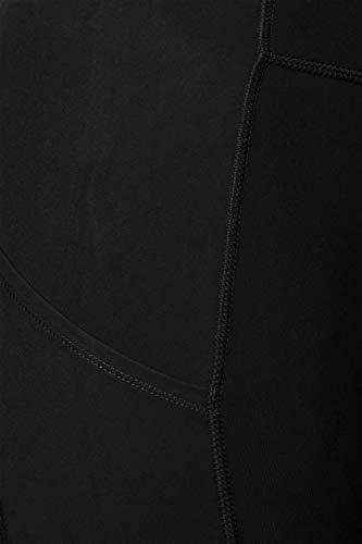 Leggings Depot YL7A-BLACK-L Side & Inner Pocket Yoga, Large