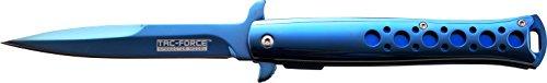 Tac-Force Taschenmesser Blau Mirror Titan, TF-884BL